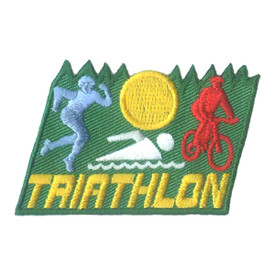 S-1831 Triathlon Patch