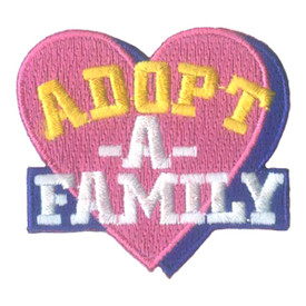 S-1833 Adopt-A-Family Patch