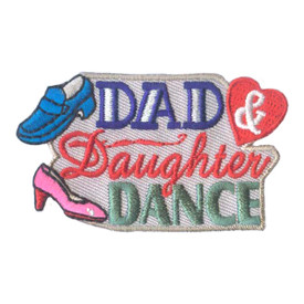 S-1837 Dad & Daughter Dance Patch