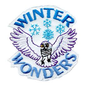 S-1858 Winter Wonders (Owl)