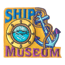 S-1869 Ship Museum Patch