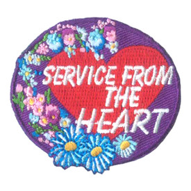 S-1874 Service From The Heart  Patch