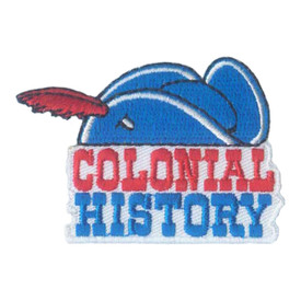 S-1876 Colonial History Patch