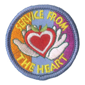 S-1878 Service From The Heart Patch