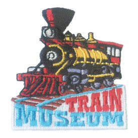 S-1881 Train Museum Patch