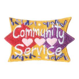 S-1882 Community Service Patch