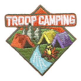 S-1888 Troop Camping Patch