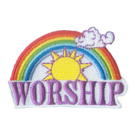 S-1896 Worship Patch
