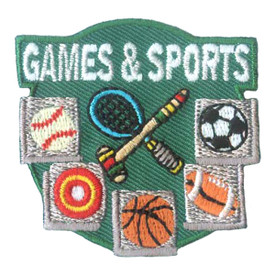 S-1899 Games & Sports Patch