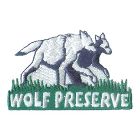 S-1901 Wolf Preserve Patch