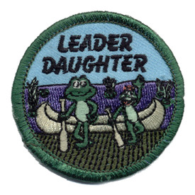 S-0029 Leader Daughter-Frogs Patch