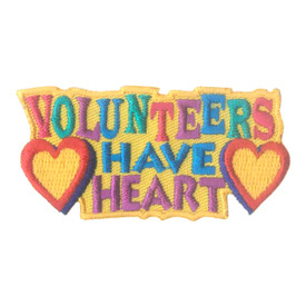 S-1926 Volunteers Have Heart Patch