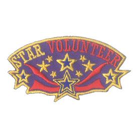 S-1928 Star Volunteer Patch