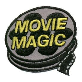 S-0030 Movie Magic- Movie Reel Patch