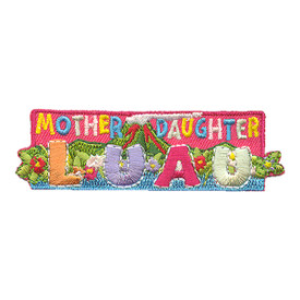 S-1944 Mother Daughter Luau Patch