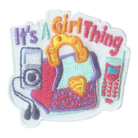 S-1947 It's A Girl Thing  Patch