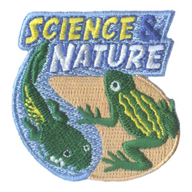 S-1951 Science & Nature Patch