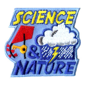 S-1958 Science & Nature Patch