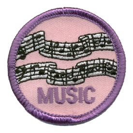 S-0031 Music-Bars Patch