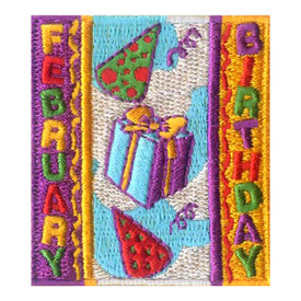 S-1963 February Birthday Patch