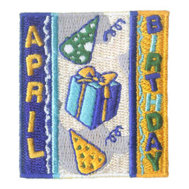 S-1965 April Birthday Patch
