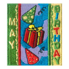 S-1966 May Birthday Patch