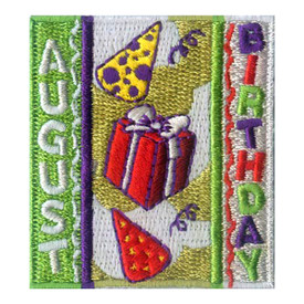 S-1969 August Birthday Patch