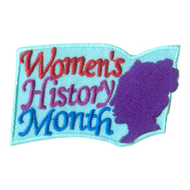 S-1975 Women's History Month Patch
