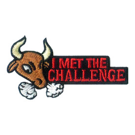 S-1983 I Met The Challenge Patch