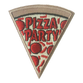 S-0034 Pizza Party Patch