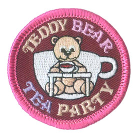 S-1993 Teddy Bear Tea Party Patch