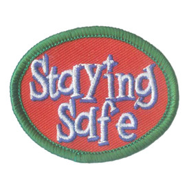 S-1998 Staying Safe Patch