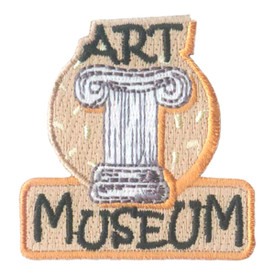S-2035 Art Museum Patch
