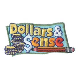 S-2044 Dollars & Sense Patch