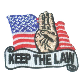 S-2056 Keep The Law Patch