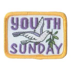 S-2061 Youth Sunday (Dove) Patch