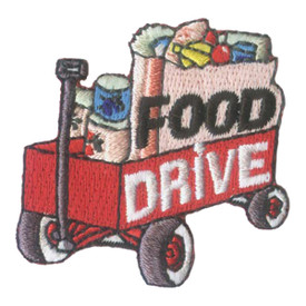 S-2064 Food Drive (Wagon) Patch