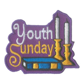 S-2065 Youth Sunday (Bible) Patch
