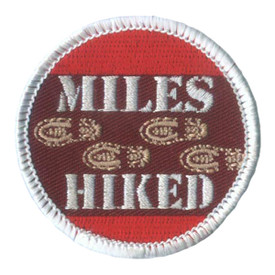 S-2072 Miles Hiked Patch