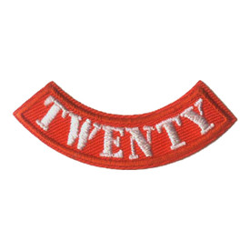 S-2075 Twenty Miles Rocker Patch