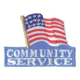 S-2085 Community Service  Patch