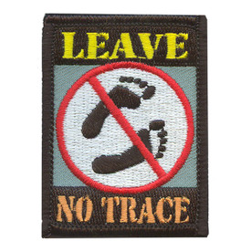 S-2095 Leave No Trace Patch