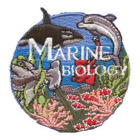 S-2105 Marine Biology Patch