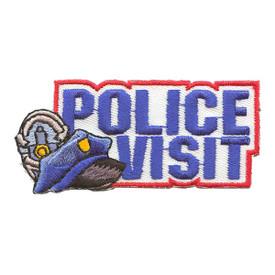 S-2109 Police Visit Patch