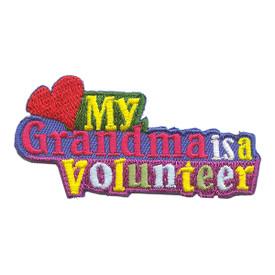 S-2125 My Grandma Volunteer Patch