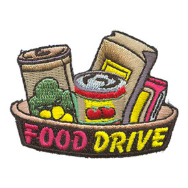 S-2132 Food Drive Patch