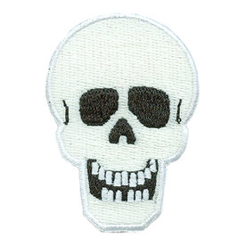 S-2134 Halloween Skull (GITD) Patch