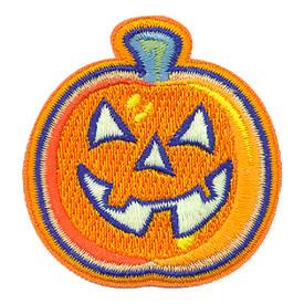 S-2135 Pumpkin Head (GITD) Patch