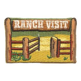 S-2160 Ranch Visit Patch