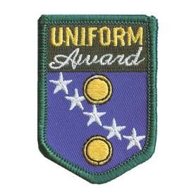 S-2166 Uniform Award Patch